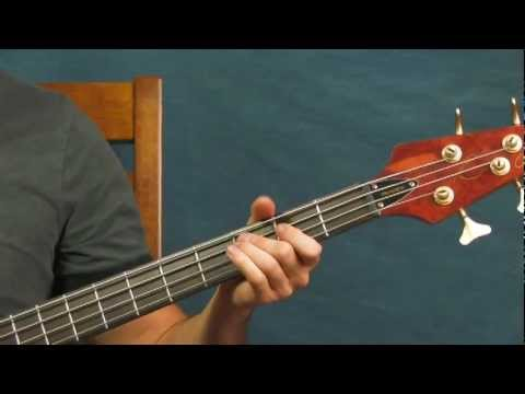 bass guitar lesson hey joe jimi hendrix