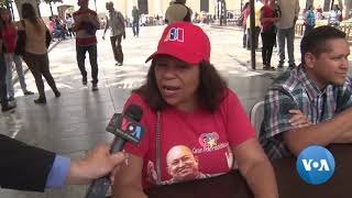 Venezuelans Await Aid as Political Crisis Continues - VOAVIDEO