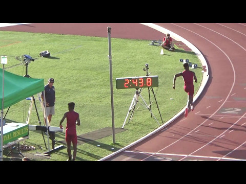 Mission League Finals: JV 4 x 400