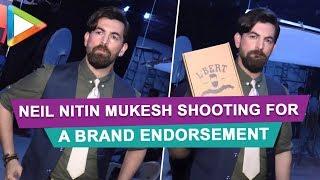 Neil nitin mukesh shooting for a brand endorsement - HUNGAMA
