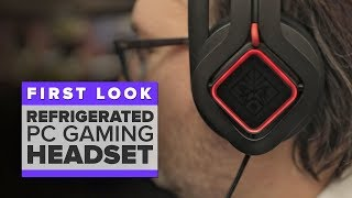 HP's Omen Mindframe refrigerated PC gaming headset - CNETTV