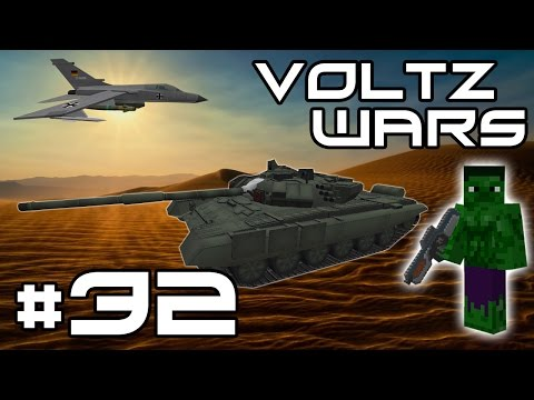 Minecraft Voltz Wars - Starting on Missiles! #32