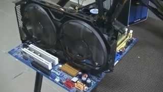 Небольшой ремонт видеокарты.