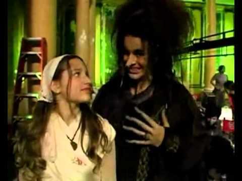 Sasha Meneghel filmagens do  making of do filme 'Xuxa em o Mistério da Feiurinha'
