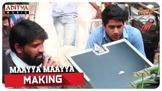 Maayya Maayya Making || Majili Movie || Naga Chaitanya, Samantha, Divyansha Kaushik - ADITYAMUSIC