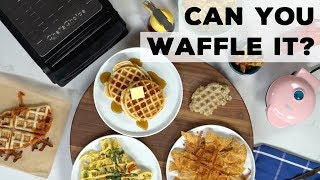 Can You Waffle It? | Food Network - FOODNETWORKTV