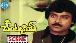 Chantabbai Movie Scenes - Allu Ramalingaiah Comedy || Chiranjeevi || Suhasini || Jandhyala - IDREAMMOVIES