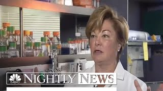 Cancer Moonshot: The Doctor Giving a Fighting Chance to Patients   NBC Nightly News - NBCNEWS