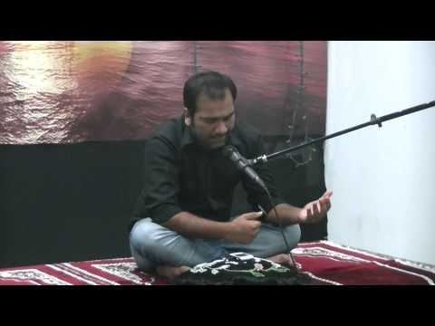 Asif Ali at Dar e Hussain