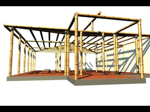 Casa Modelo en Guadua -  Ochoasanint.com