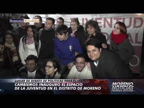 Cambiemos inauguró el espacio de la juventud en el distrito de Moreno