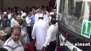 Hajj pilgrims start flights- Dy.CM to flag off - SIASATHYDERABAD