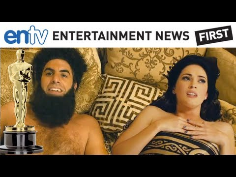 SACHA BARON COHEN OSCAR BANNED The Dictator Banned From Oscars Expecting A Funny Prank ENTV