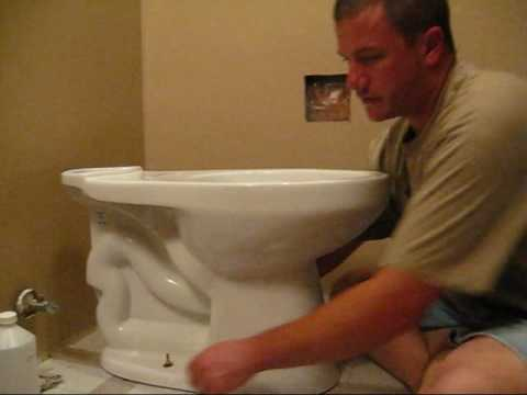 The Average Joe's (or Jane's) Guide to Installing a Toilet Part 1 of 2