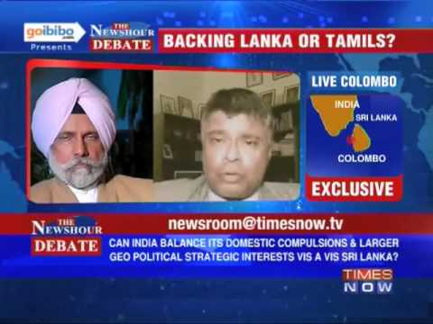 The Newshour Debate: What's in India's interest in the Sri Lanka issue? (The Full Debate)