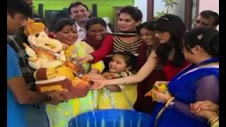 Ganpati visarjan with Bharti Singh - BOLLYWOODCOUNTRY