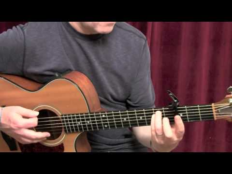 How to play &quot;Rolling In The Deep&quot; by Adele on the guitar