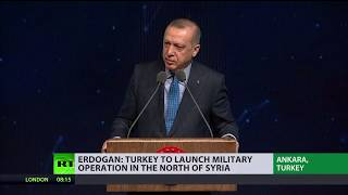 Turkey threatens to send troops to northern Syria to fight 'terrorist groups' - RUSSIATODAY