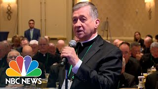 President Of U.S. Bishops Hopes Vote Delay Improves Sex Scandal Response | NBC News - NBCNEWS