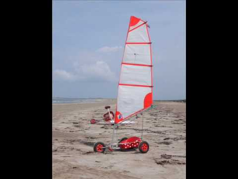 Land sailing A Sandyacht Adventure in Ireland 2008 P I