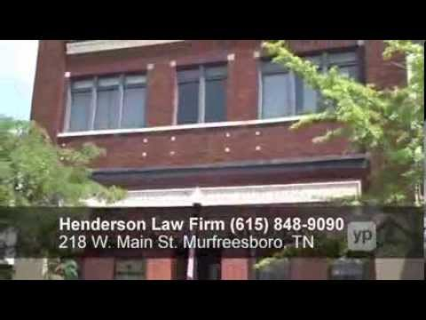 Henderson Law Firm - Murfreesboro Tennessee