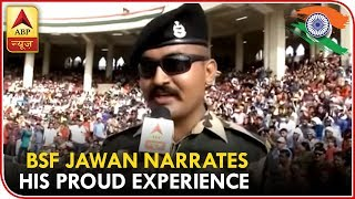 Motivator Abhishek At Wagah Border Narrates His Proud Experience | ABP News - ABPNEWSTV