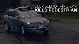 Uber self-driving car kills a pedestrian (CNET News) - CNETTV
