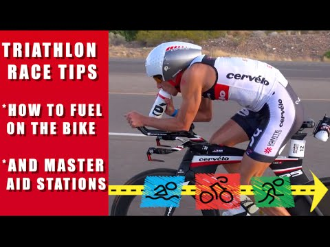 How to Fuel on the Bike in a Triathlon and Master Aid Stations with Dave Erickson, Wendy Mader