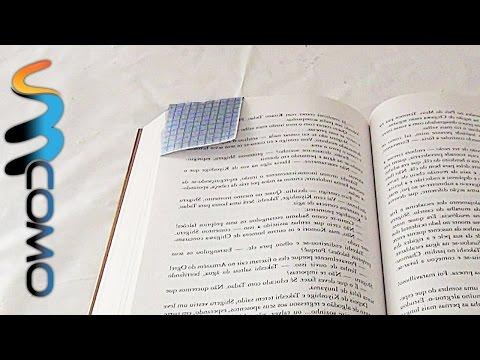 Marcador de Página feito com Papel