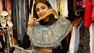 Monali Thakur Gives A Sneak Peek Of Her Wardrobe | Inside Out - ZOOMDEKHO