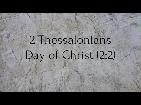 New Testament Survey - 2 Thessalonians