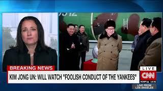 Kim Jong Un says he 'will watch foolish yankees' - CNN
