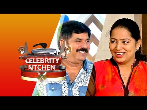 Actor Seenu & Actress Subathra in Celebrity Kitchen (29/03/2015)