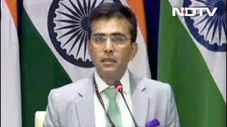भारत और पाकिस्तान के विदेश मंत्री के बीच होगी मुलाकात - NDTVINDIA