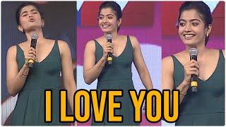 Rashmika Cute Speech Bheeshma Pre Release Event | TFPC - TFPC