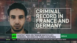 Strasbourg gunman suspect had 27 convictions before attack, was on terror watch list - RUSSIATODAY