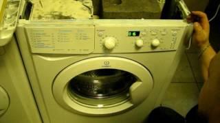 Стиральная машина Indesit, Индезит постоянно работает насос