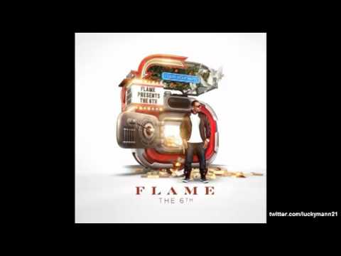 Flame - Caught In The Lights (feat V.Rose) (6th Album) New Hip-hop 2012