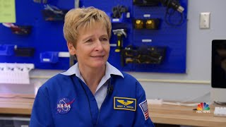 Legendary Astronaut Peggy Whitson Inspires The Next Generation Of Space Explorers | NBC Nightly News - NBCNEWS