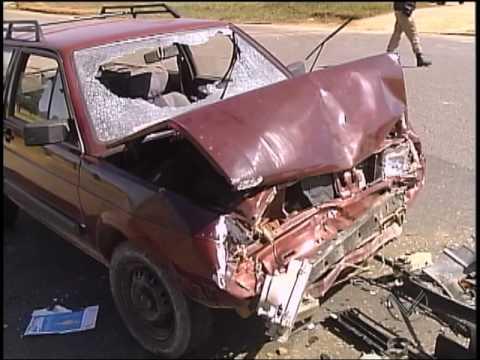 Reportagem - Acidente na Rodovia MG335 que liga Lavras a Ijaci