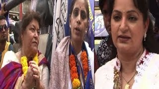 Saroj Khan, Upasana Singh campaign for BSP - Bollywood Country Videos - BOLLYWOODCOUNTRY
