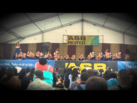 Epsom Girls Samoan Group 2014 - Taualuga and Exit