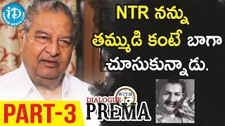 Kaikala Satyanarayana Exclusive Interview Part #3 || Dialogue With Prema || Celebration Of Life - IDREAMMOVIES