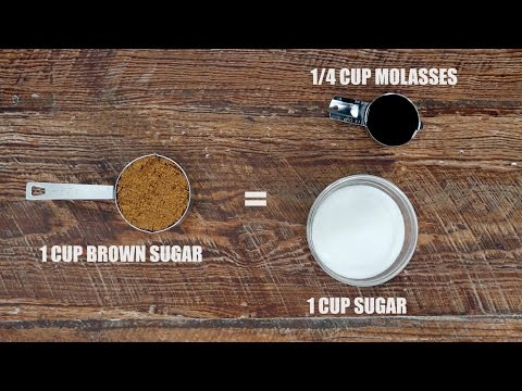 11 Substitutions for Common Baking Ingredients