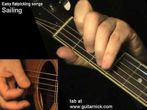 Sailing, Rod Stewart - on acoustic guitar + TAB! Learn how to play