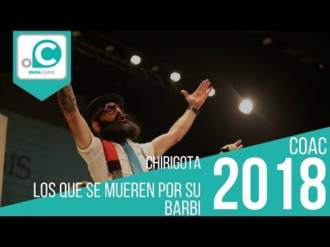 La agrupación Los que mueren por su barbi llega al COAC 2018 en la modalidad de Chirigotas. En años anteriores (2017) concursaron en el Teatro Falla como La aguja de oro, consiguiendo una clasificación en el concurso de Preliminares.