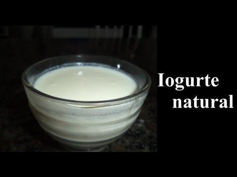 Como fazer iogurte Grego