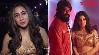 Sara Ali Khan promotes Kedarnath   Mouni shoots for a special song in 'KGF' - ZOOMDEKHO