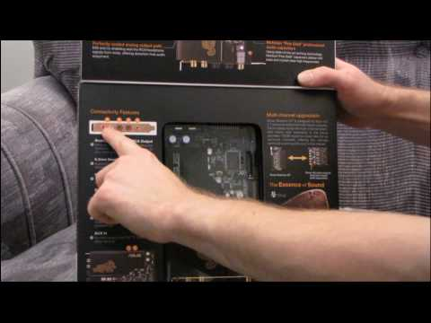 ASUS Xonar Essence ST Audiophile Stereo PCI Sound Card Unboxing & First Look Linus Tech Tips