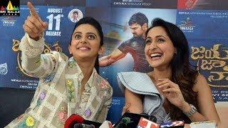 Jaya Janaki Nayaka Movie Success Meet | Latest Telugu Movies 2017 | Sri Balaji Video - SRIBALAJIMOVIES